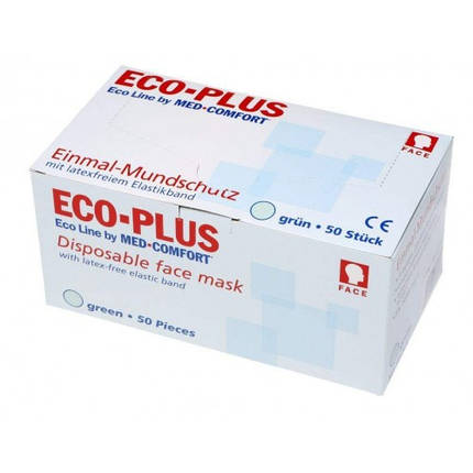 Маска защитная ECO PLUS MIX. Ampri, фото 2