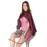 Пеньюар HairMaster  Icape c Окном Фиолетовый  (138X154)