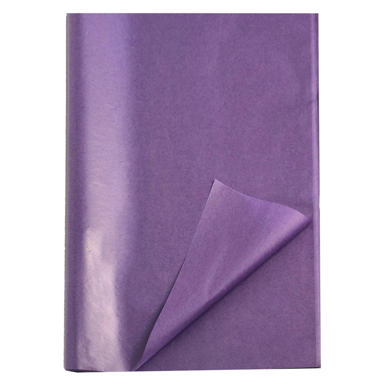 Бумага тишью фиолетовая 100 листов оптом