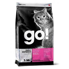 GO (Гоу) Refresh + Renew Chicken Cat Recipe 32/20, сухой корм для кошек с курицей и фруктами, 7,26 кг