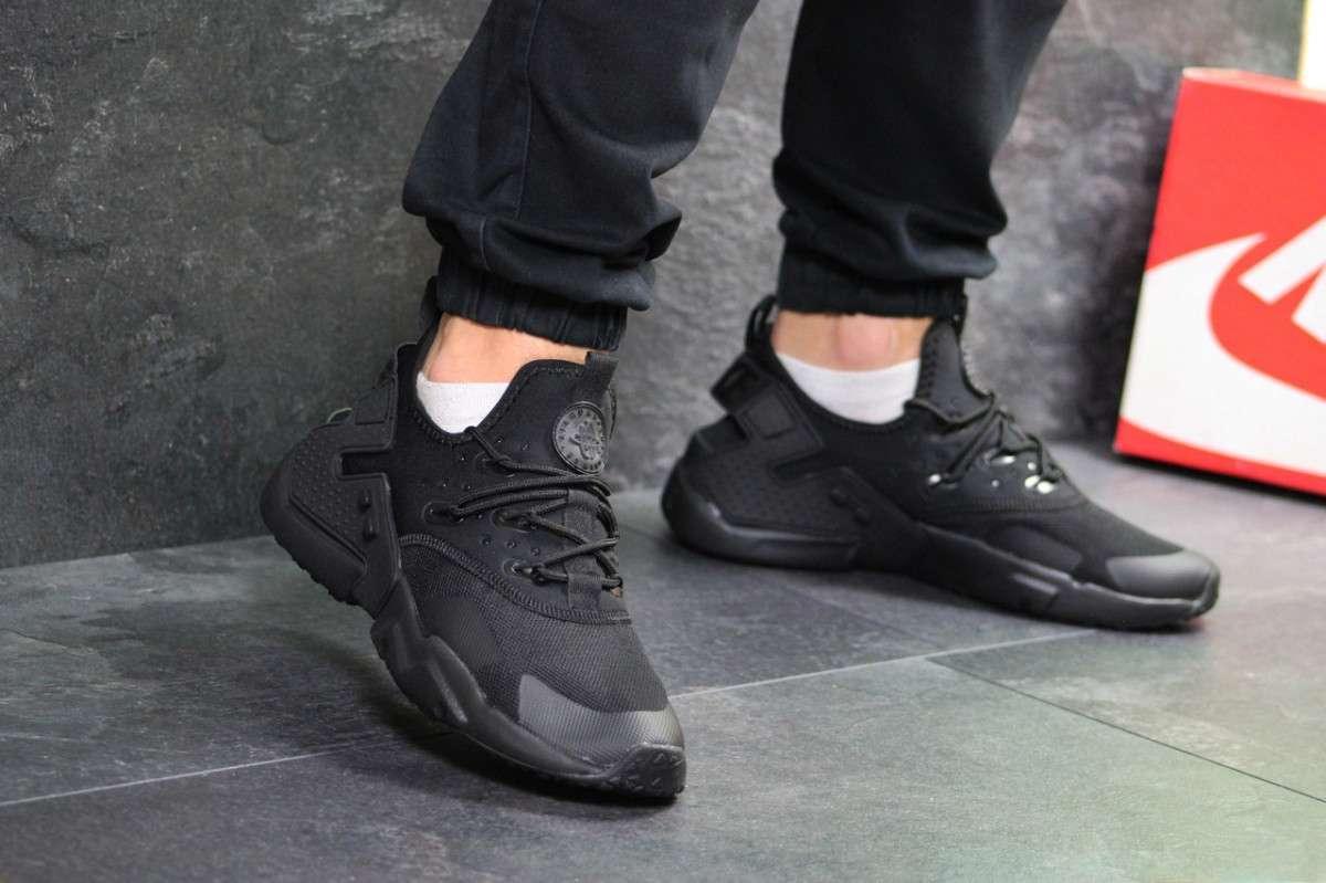cdad10a35 Кроссовки Мужские Черные Nike Air Huarache 7106 — в Категории ...