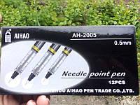 Ручка 2005 черная 12шт Aihao