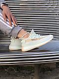 Топовые кроссовки Adid@s Yeezy 350 V2, фото 5