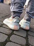 Топовые кроссовки Adid@s Yeezy 350 V2, фото 7