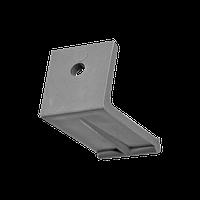 Фиксатор подоконника (уголок), пластиковый, 100 шт