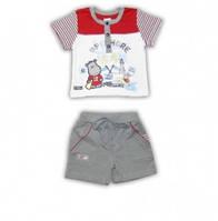 Комплект футболка и шорты  Garden Baby, 42047-16 ( р. 68 )