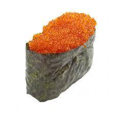 Икра Масаго для суши (оранжевая) 100 грамм стекло
