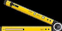 Угломер 30C321 Topex разводной, 500 x 500 мм с уровнем, фото 1