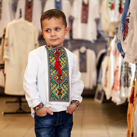 Вышиванка для мальчика с длинным рукавом, фото 2