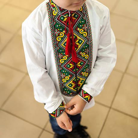Вышиванка для мальчика с длинным рукавом , фото 2