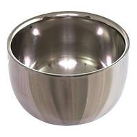 "Чаша для пены BarberPro нержавеющая сталь малая ""Shaving mug"""