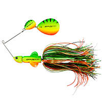 Спиннербейт DAM Effzett Pike Rattlin' Spinnerbait 17см 43гр (Firetiger)