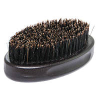 Щетка для бороды BarberPro деревянная с натуральной щетиной большая