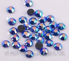 Стрази DMC, Sapphire AB SS16 термоклеевие. Ціна за 144 шт