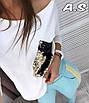 Практичный костюм с кофточкой свободного кроя ( карман двусторонняя паетка) и брюки с золотыми лампасами , фото 4