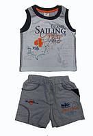 Костюм для мальчика «Остров сокровищ» футболка и шорты  Garden Baby, 42072-03 ( р. 92-116 )