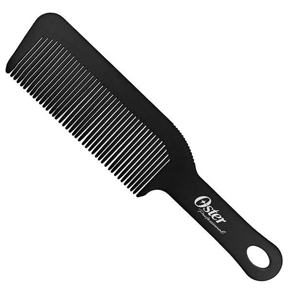 Oster BARBER COMB Black расческа для стрижки под машинку с ручкой черная
