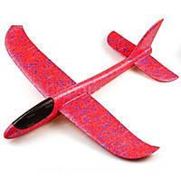 Самолет планер48см. из пенопласта с подстветкой кабины