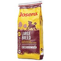 Сухой корм Йозера Josera Large Breed для собак крупных пород с лососем 15 кг