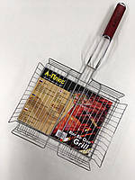 Решетка для гриля 40*25*5см P-PLUS ART-1896 (24 шт)