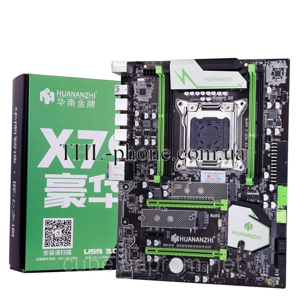 Игровой ПК Xeon e5 1650 Huanan X79 2.49 Pb Память 16 Гб Кулер Lga 2011 Geforce 1050Ti, 1070, 1080