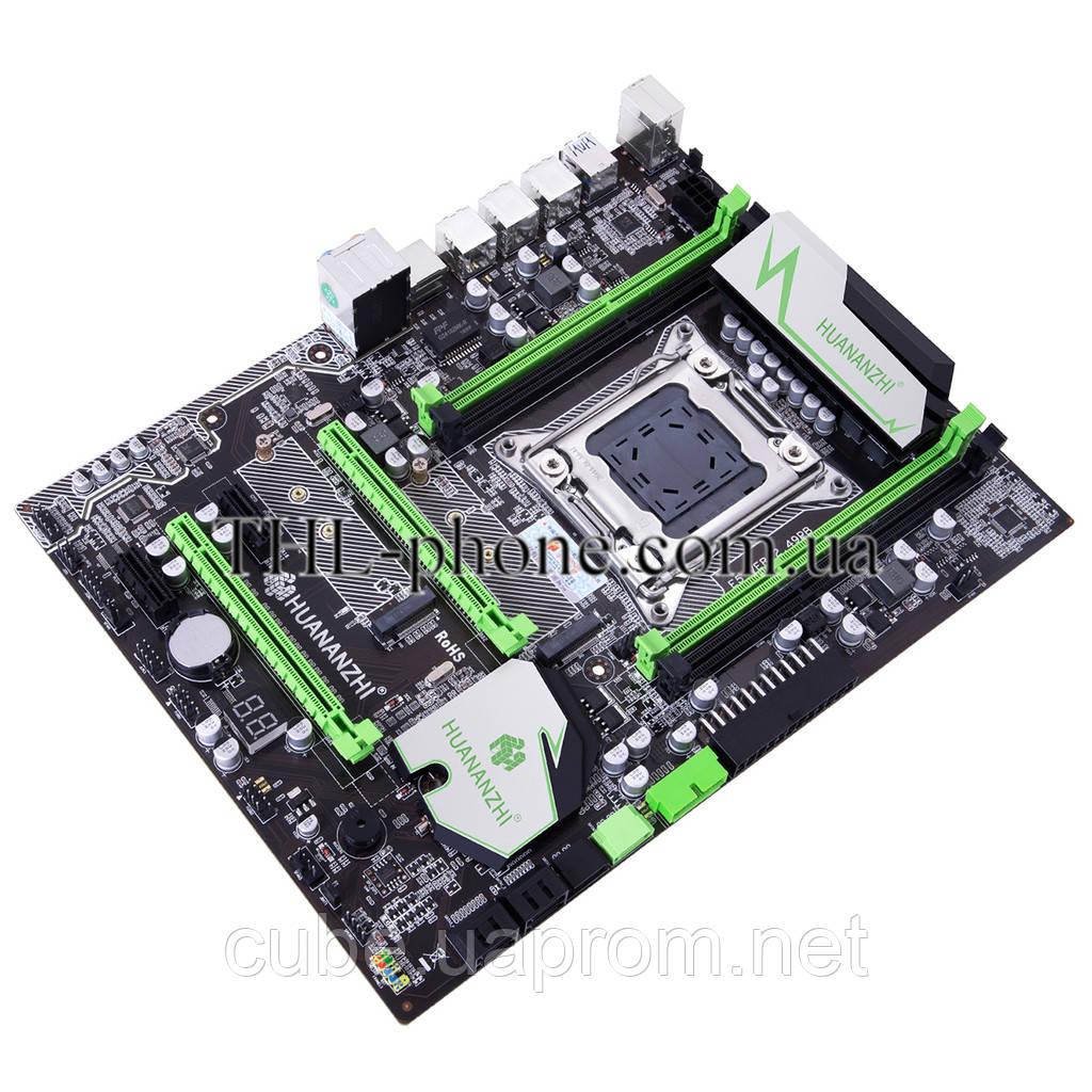 Материнська плата Huanan X79 2.49 Pb Motherboard LGA2011 e5-2670, 1650, 2650, 2680, 2660, 1660 Lga 2011