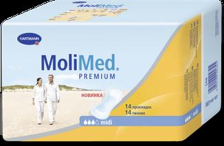 Урологические прокладки женские, Molimed Premium Midi, Германия, фото 2