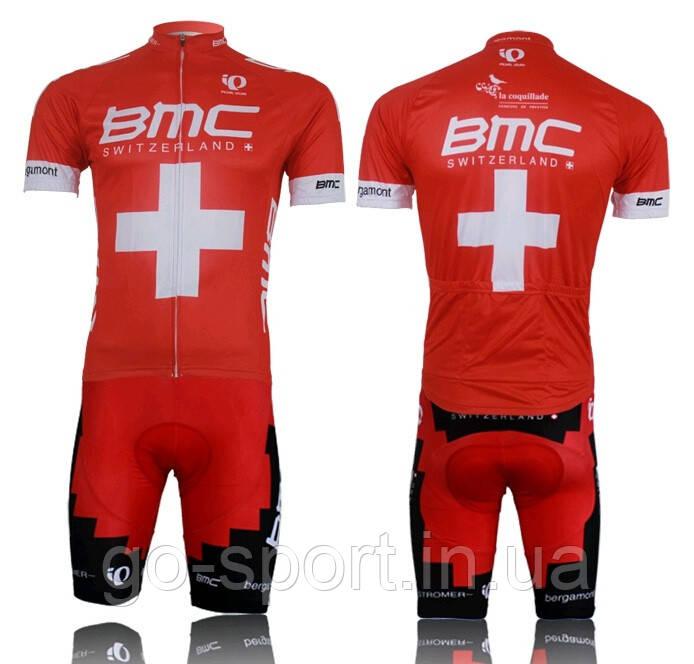 Велоформа BMC 2014 bib