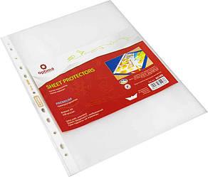 Файл Premium А4 Optima, 50 мкм, глянец (100 шт / уп)