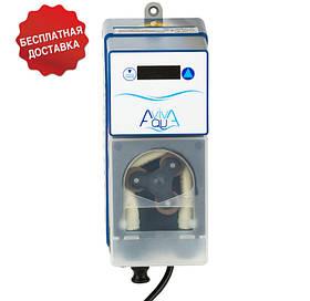 Перистальтический дозирующий насос AquaViva Cl 1,5 л/ч (KXRX) с автодозацией, фиксированная скорость