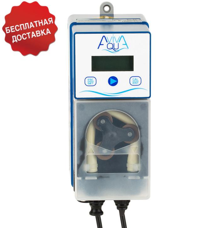 Перистальтический дозирующий насос AquaViva pH/CL 1,5 л/ч (KUPH) с автодозацией, регулируемая скорость