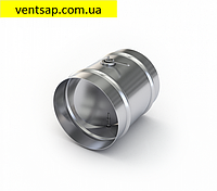 Дроссель- клапан круглый вентиляционный диаметр 200мм., оцинковка 0,5 мм.