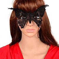 Кружевная маска бабочка 9