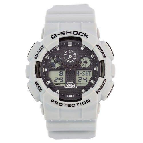 Электронные часы Casio G-Shock GA-100 Grey, спортивные часы Касио Джи Шок, реплика, отличное качество