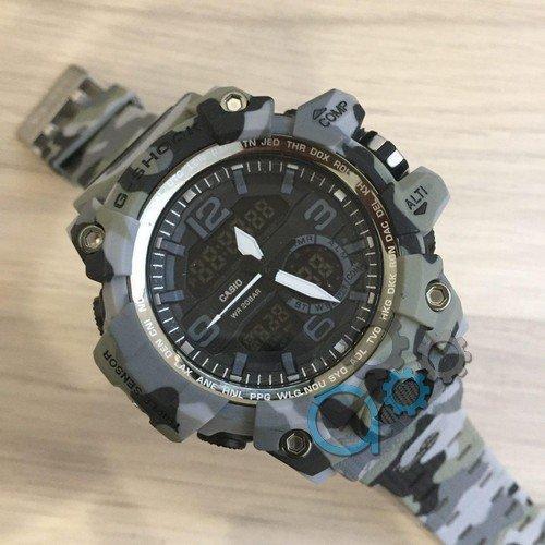 Электронные часы Casio G-Shock GG-1000 Gray-Militari, спортивные часы Касио Джи Шок, реплика