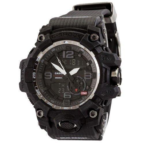 Электронные часы Casio G-Shock GG-1000 All Black New, спортивные часы Касио Джи Шок, реплика, отличное качество, качество
