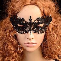 Карнавальная кружевная маска 8