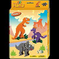 Термомозаика Hama Набор Динозавры