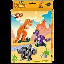 Термомозаіка Hama Набір Динозаври