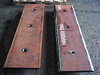 Нож ковша hardox ( режущая кромка ) футеровочные пластины hardox
