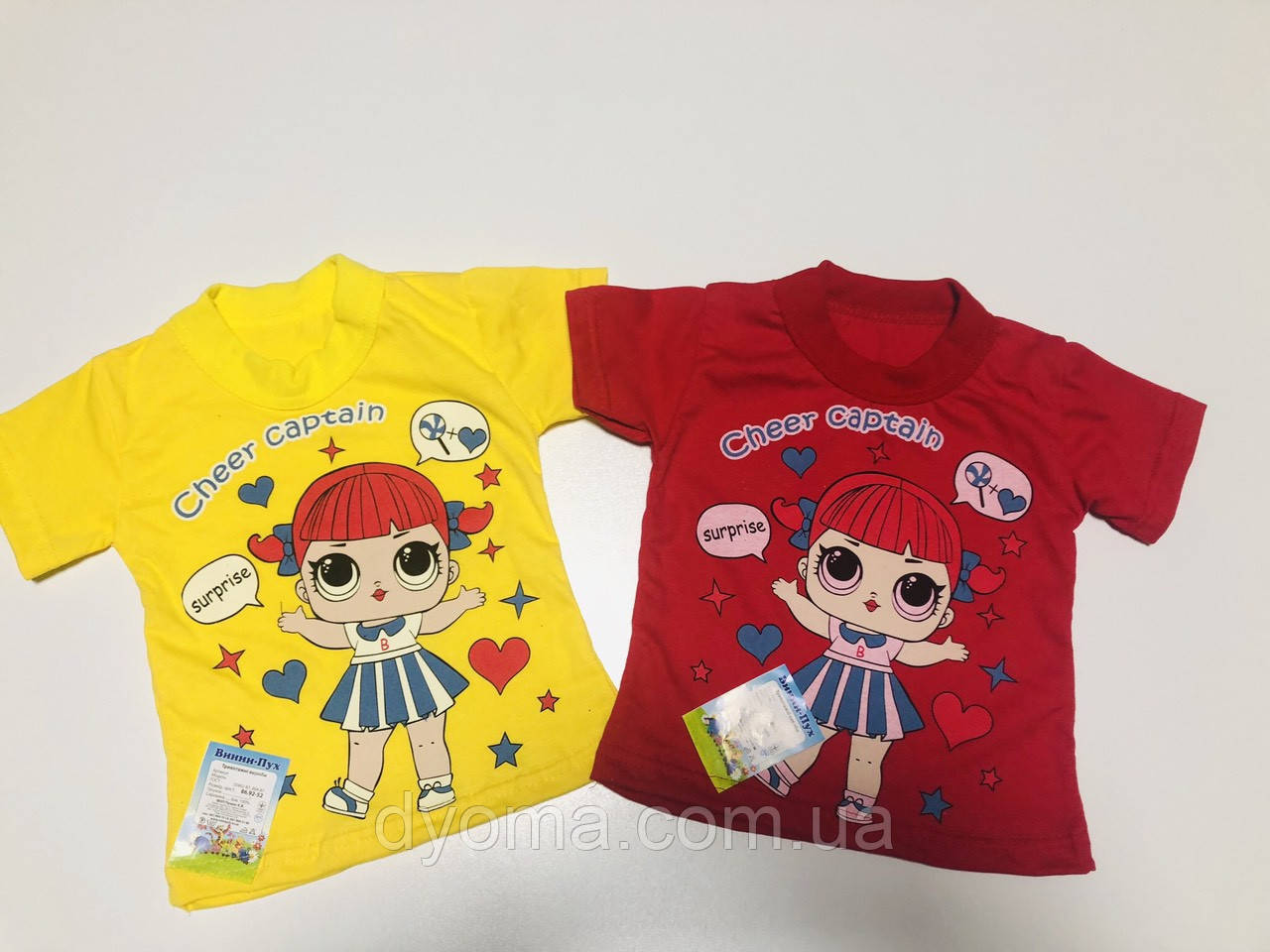 """Детская футболка """"L. O. L."""" для девочек"""