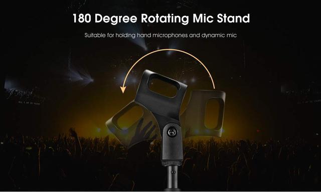 Подставка-держатель для микрофона   регулируемая