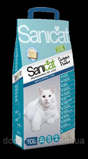 Всмоктуючий наповнювач для котів Sanicat Oxygen Power 10 л