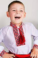 Вышиванки для мальчишек с красной вышивкой , фото 1