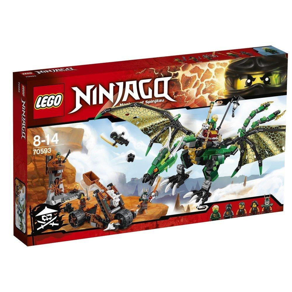 Классический конструктор LEGO Ninjago Зеленый Дракон (70593)