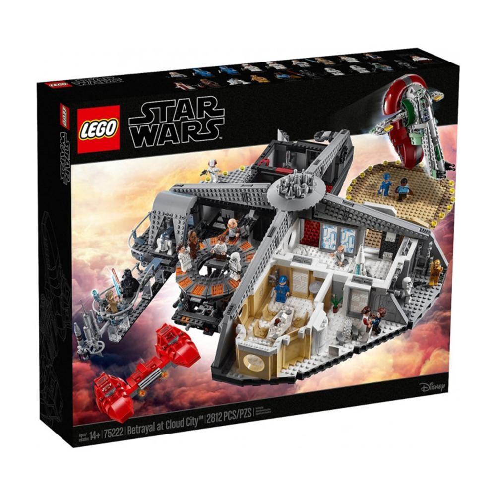 Классический конструктор  LEGO Star Wars Западня в Облачном городе (75222)