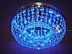 Хрустальная потолочная LED люстра P5-E0966/6 (золото,хром), фото 2