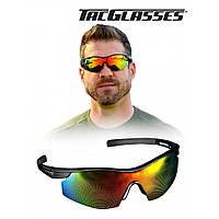 Солнцезащитные поляризованные  очки Tac Glasses, черные