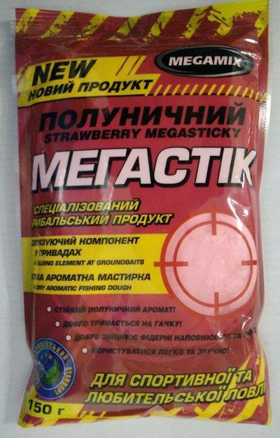 Клей-мастырка Мегастик Клубника