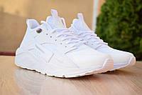 Мужские кроссовки Nike Huarache белые (реплика +ААА), фото 1